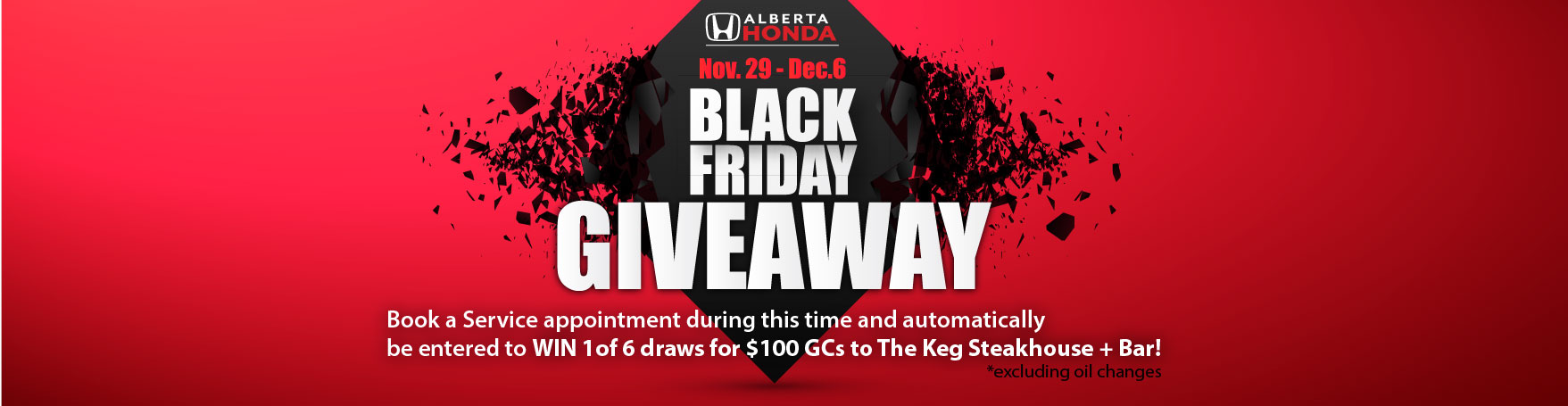 Win $$ with Service in our Black Friday Contest