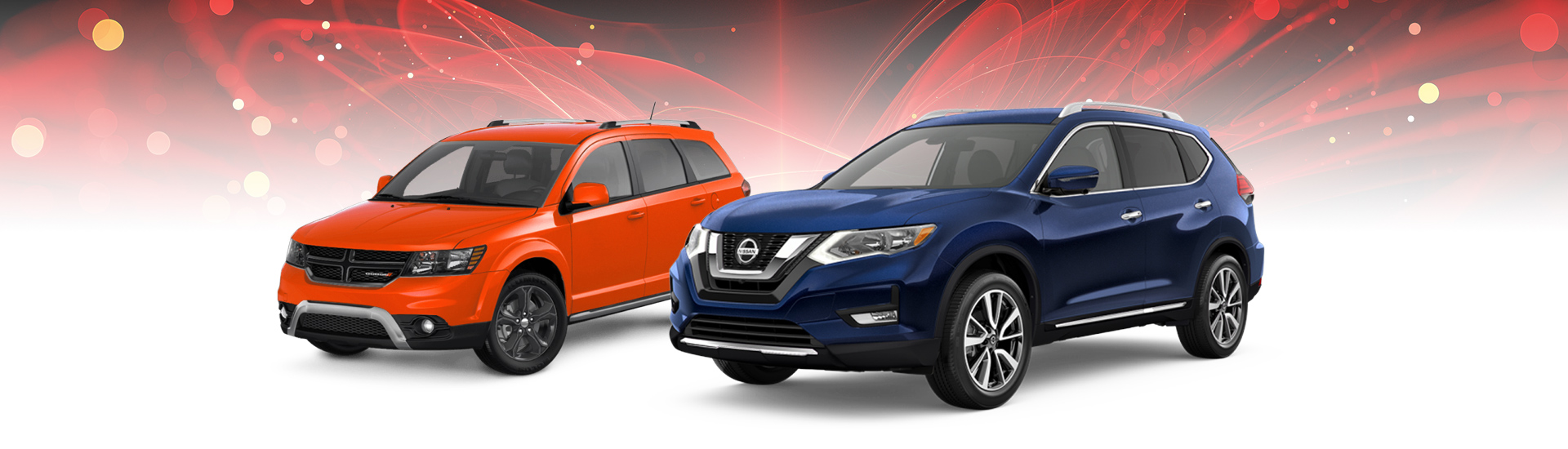 Side by Side Nissan Rogue vs Dodge Journey