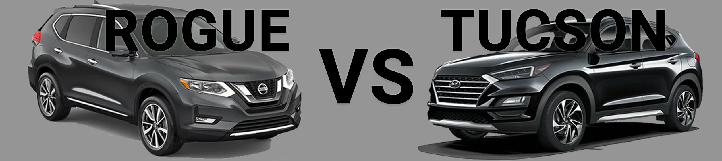 Rogue Vs. Tucson comparison of the two vehicles