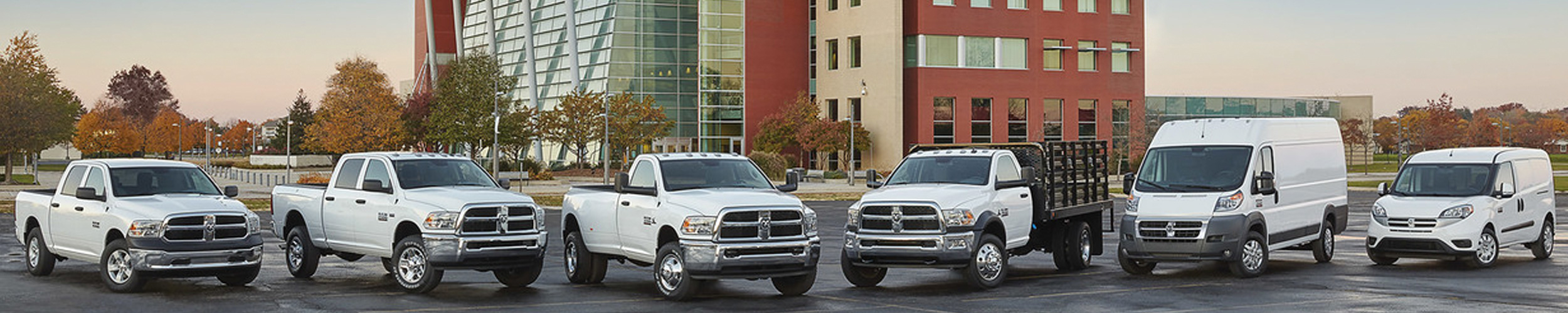 RAM Fleet Vehicles