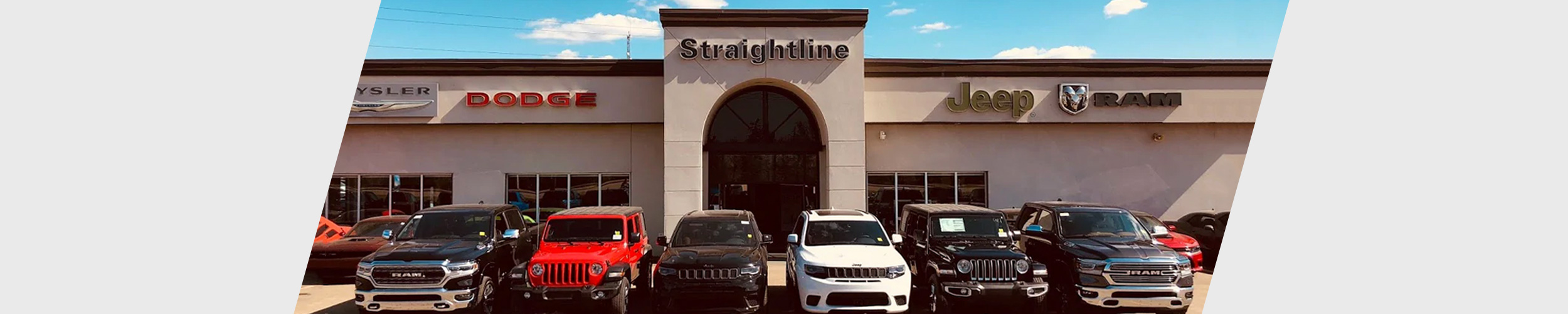 Straightline Chrysler Dealership Exterior