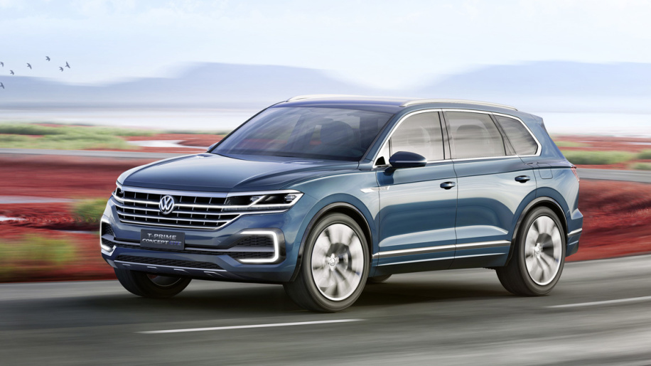 VW T-Prime Concept GTE the Hybrid SUV You're Waiting For