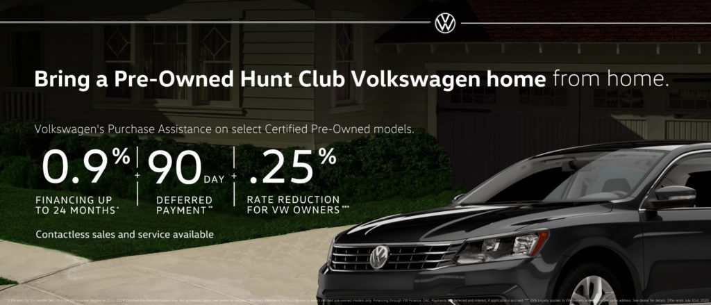 Volkswagen pre-owned hunt club vw ottawa