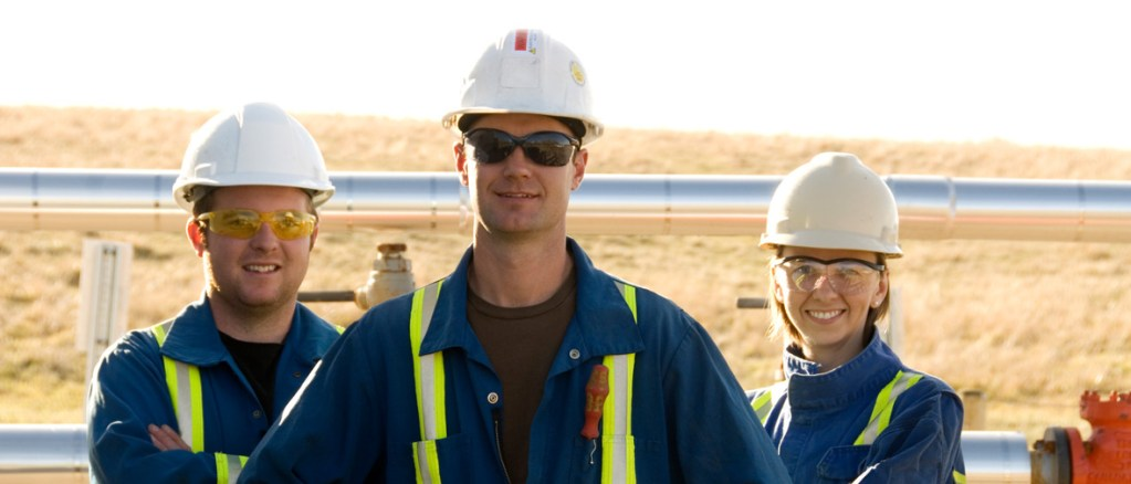 oil industry workers