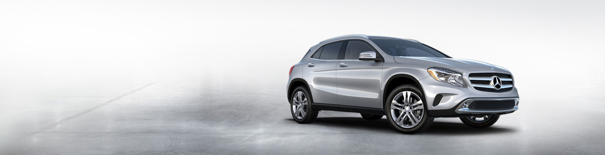 Mercedes-Benz GLA model banner