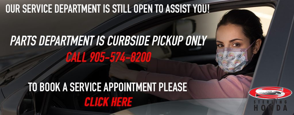 Service And Parts Curbside