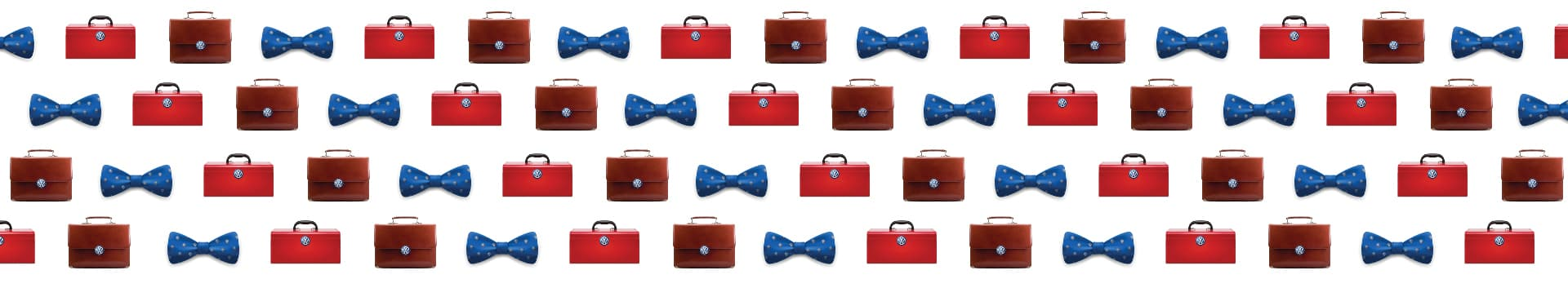 Bow ties and briefcases