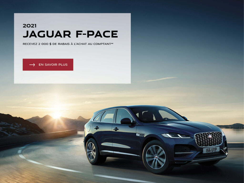 Mobile F Pace Fr