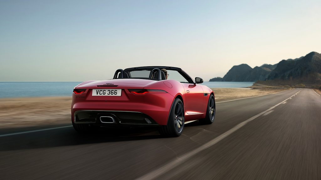 Jag F Type 22my P300 R Dynamic Black Convertible Exterior 120421 002