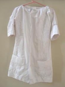 Mans Shirt to Childs Dress Refashion  AllFreeSewingcom