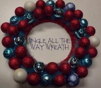Jingle All The Way Wreath | AllFreeHolidayCrafts.com