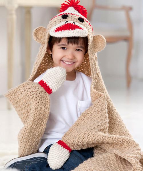 Crochet Head Pattern Monkey Sock