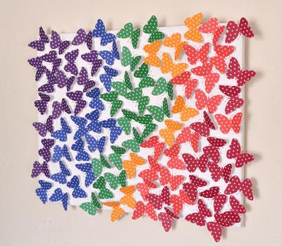 spring fling butterfly wall art allfreeholidaycrafts