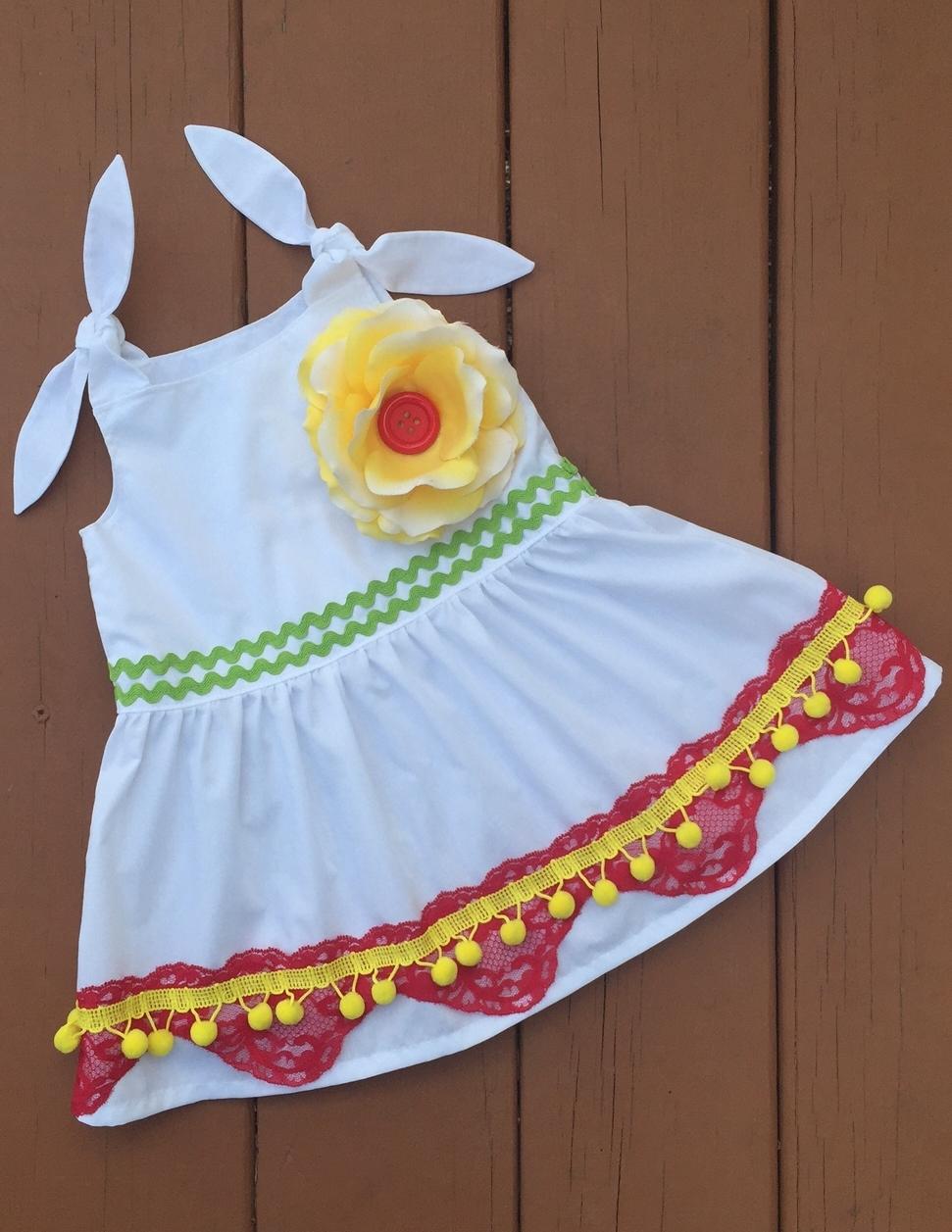 Cinco De Mayo Free Dress Pattern