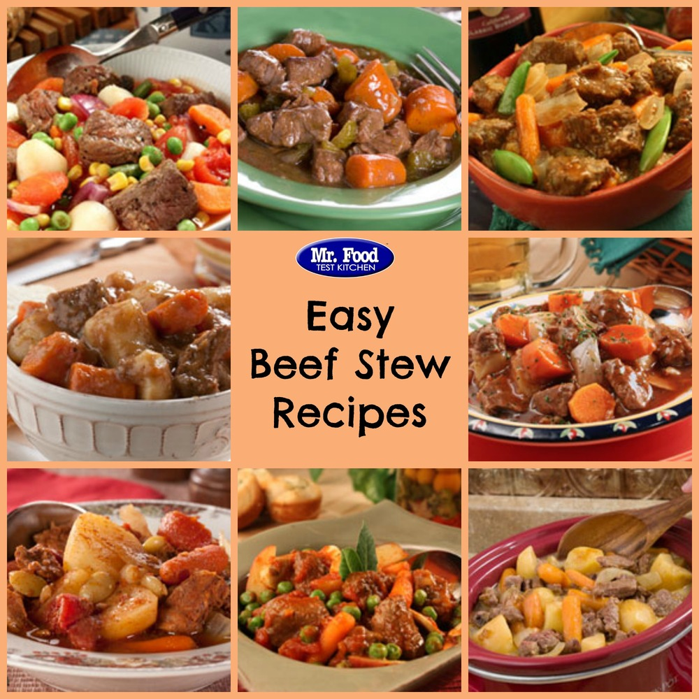 How to Make a Stew: Top 21 Beef Stew Recipes | MrFood.com