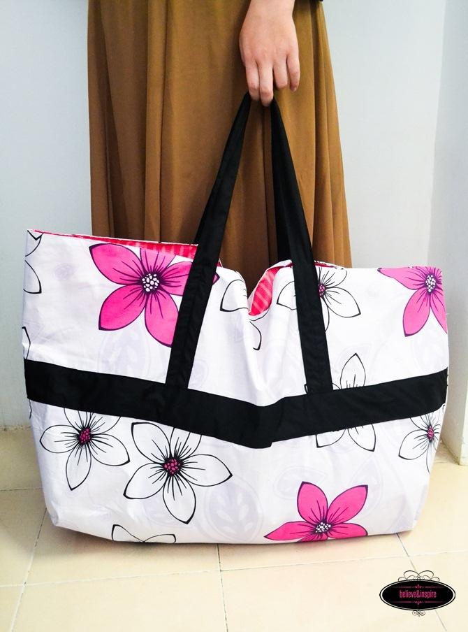 Jumbo DIY Laundry Bag Pattern  AllFreeSewingcom