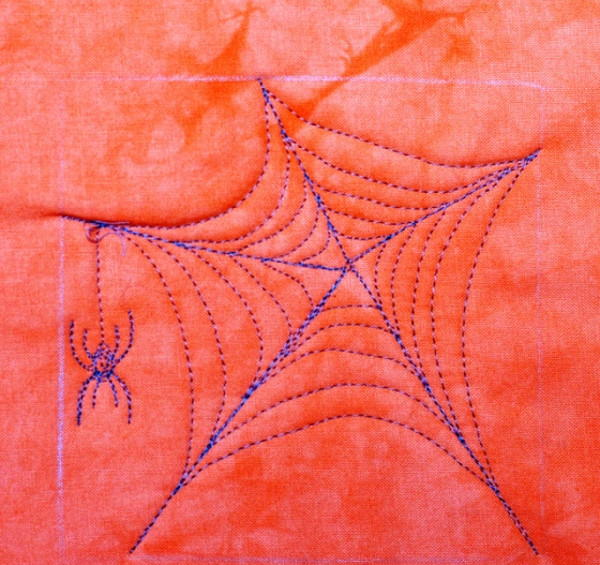 Spider Web Quilting Design  FaveQuiltscom