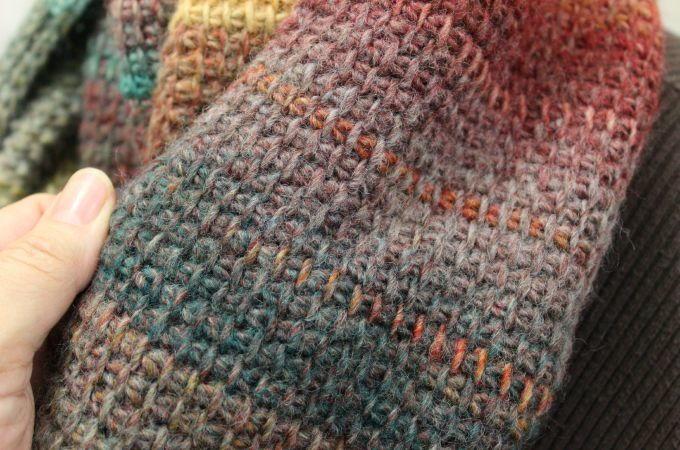 Quick Tunisian Crochet Cowl  AllFreeCrochetcom