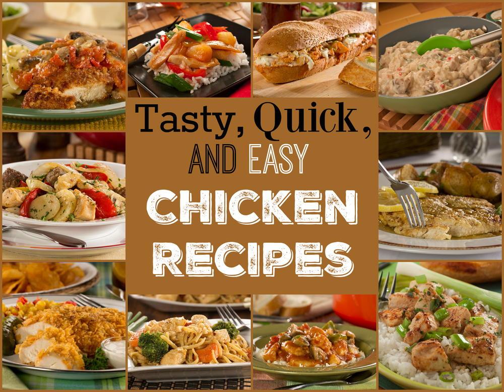 14 Tasty Quick Easy Chicken Recipes Mrfood