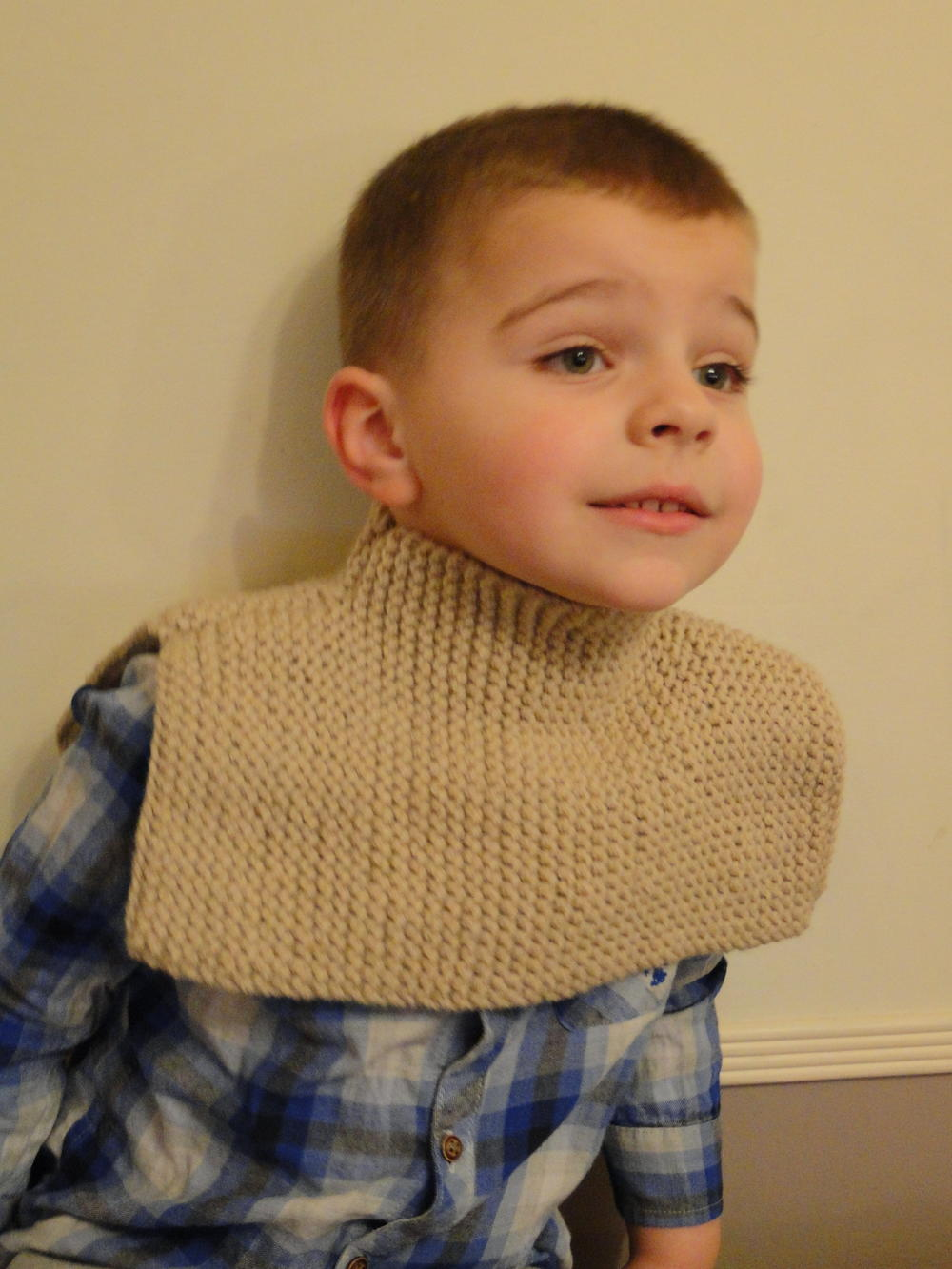 Advanced Men Scarf Knit Pattern