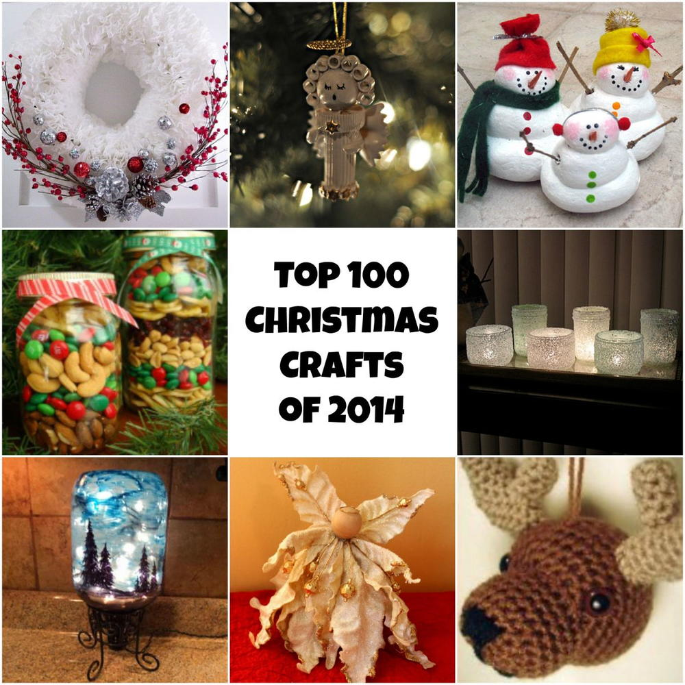 Top 100 Diy Christmas Crafts Of 2014 Homemade Christmas
