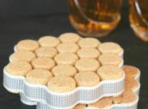 DIY Wine Cork Coasters Tutorial | DIYIdeaCenter.com