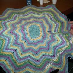 Diagram For Granny Square Crochet Stitch How To Install A 4 Way Switch Basic Round Ripple Afghan | Allfreecrochetafghanpatterns.com