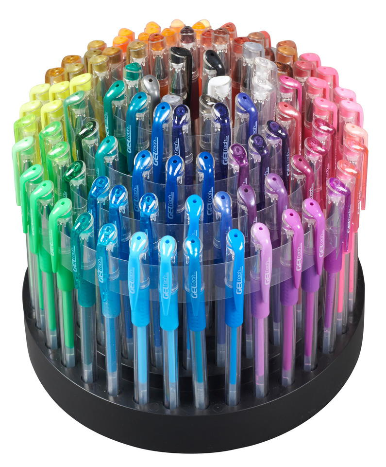 GelWriter 100 Count Gel Pens In Rotating Stand Review