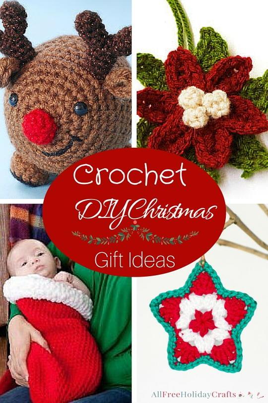 14 Crochet Diy Christmas Gift Ideas Allfreeholidaycrafts