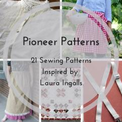 Chair Slip Covers Occasional Table And Chairs Pioneer Patterns: 21 Sewing Patterns Inspired By Laura Ingalls | Allfreesewing.com
