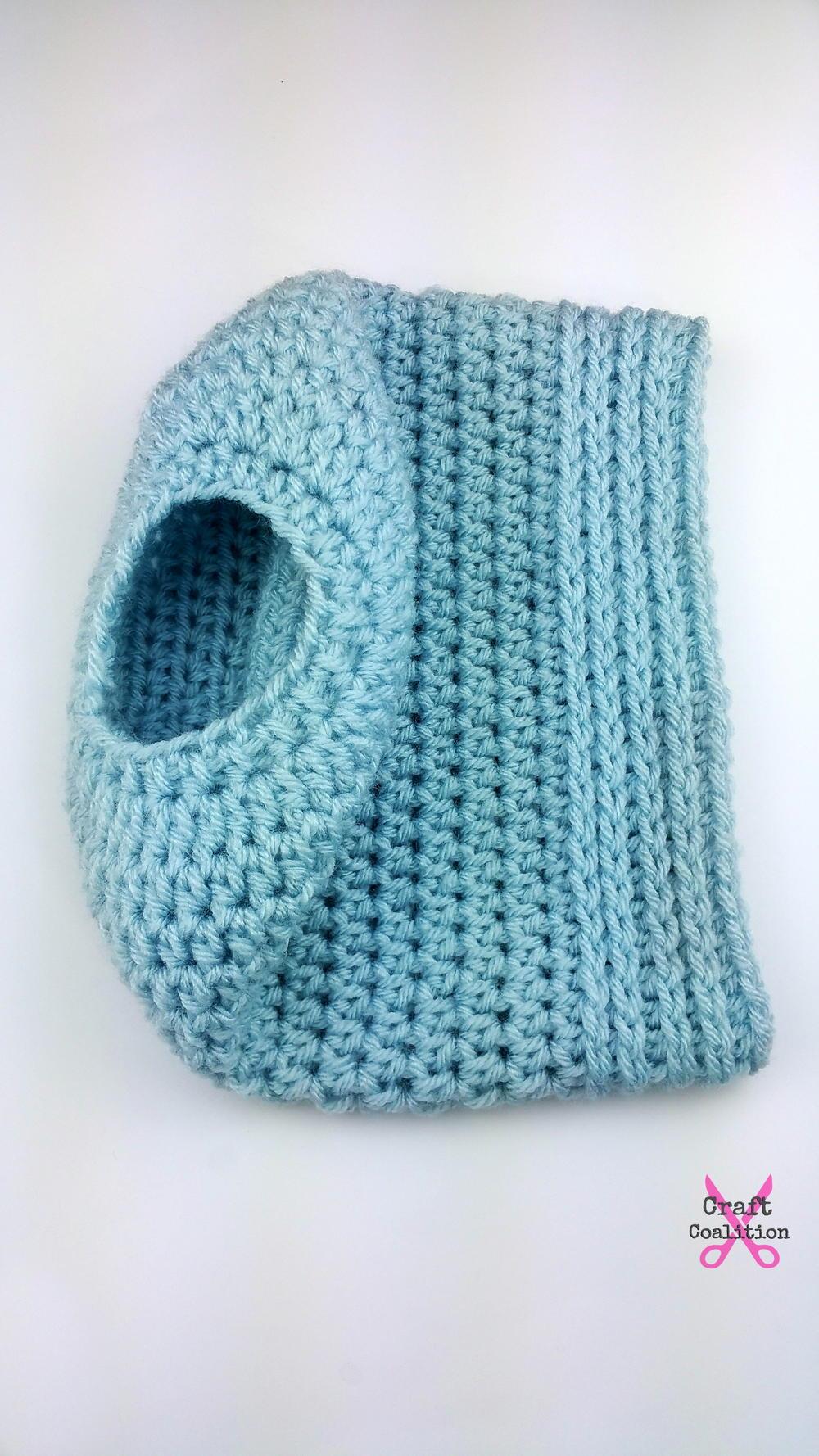 Simplicity Crochet Bun Hat  AllFreeCrochetcom