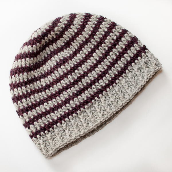 Hat Crochet Pattern Single Mens