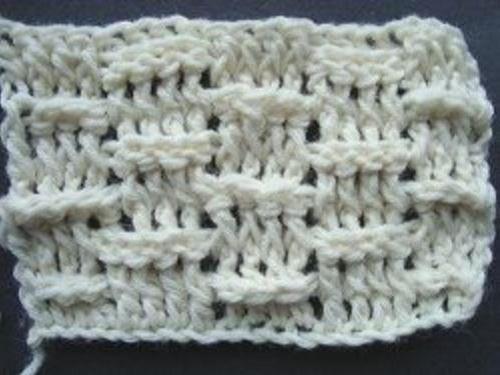 diagram for granny square crochet stitch spider parts basket weave tutorial | allfreecrochet.com