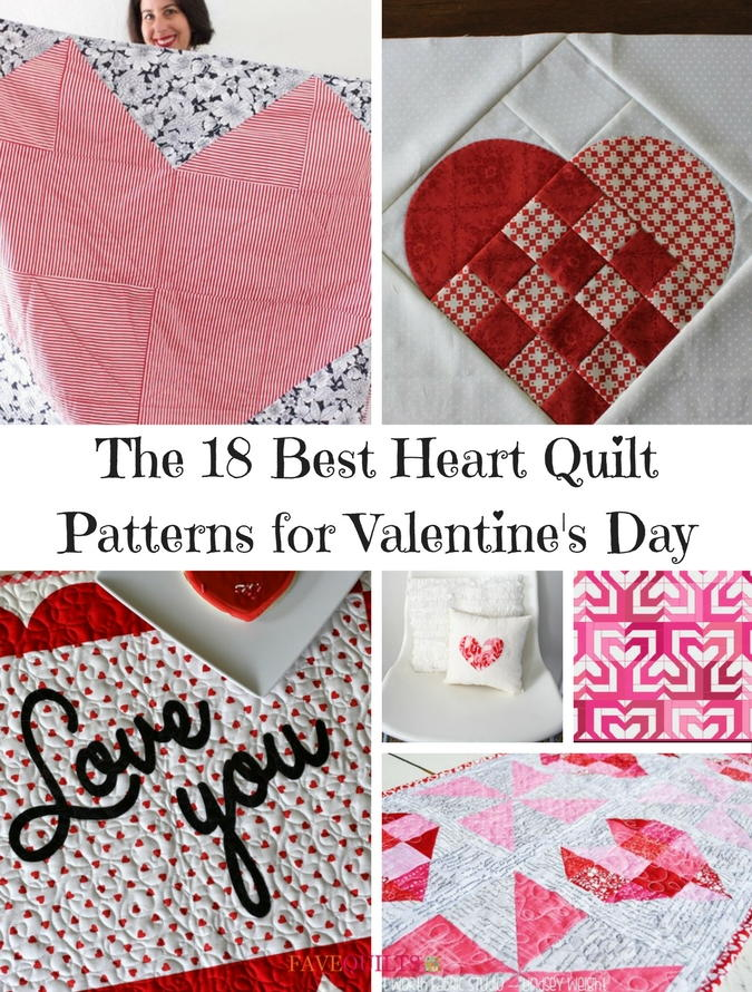 The 18 Best Heart Quilt Patterns for Valentines Day