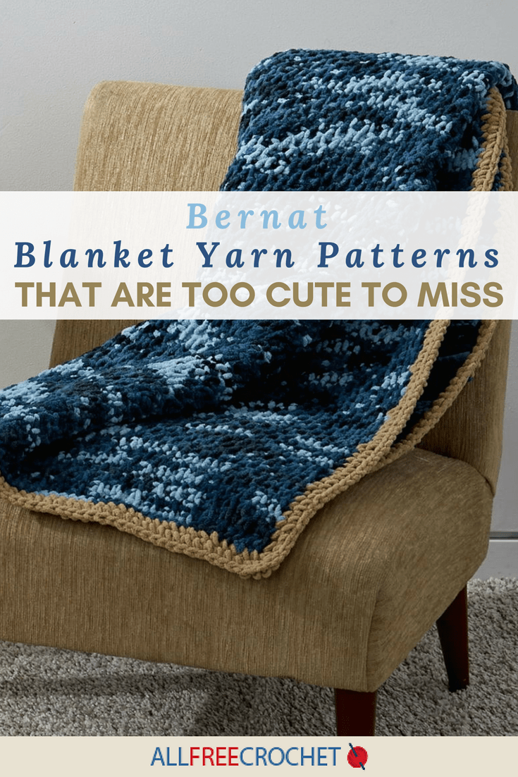 26 Bernat Blanket Yarn Patterns That Are Too Cute to Miss  AllFreeCrochetcom