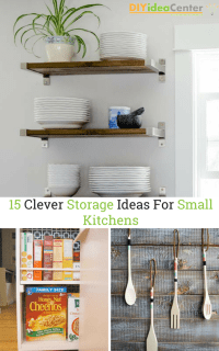 Clever Storage Ideas For Small Kitchens. 51 spice cabinet ...