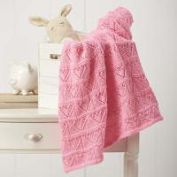 Heartfelt Baby Blanket Knitting Pattern | AllFreeKnitting.com