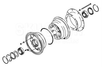 Cleveland Wheel & Brake 040-21101 Wheel Assembly at