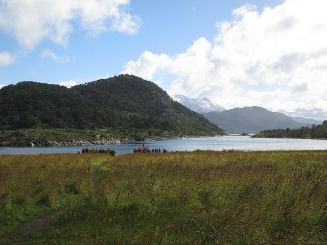 Baie Wulaia, cap Horn, Chili
