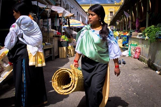 marche Otavalo Quito Equateur