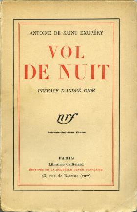 couverture Volde Nuit Saint Exupery