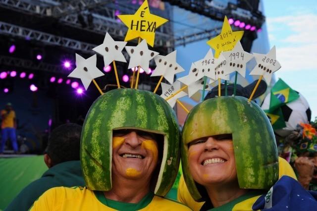 Amateurs de foot ou de pastèque ? © AFP/T.Marcelo