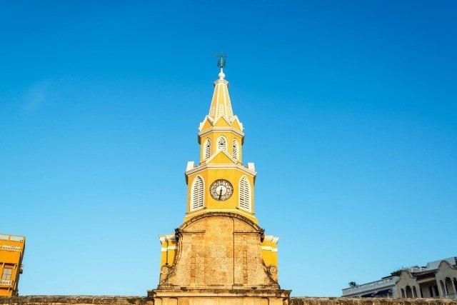 Puerto del Reloj Carthagene Colombie