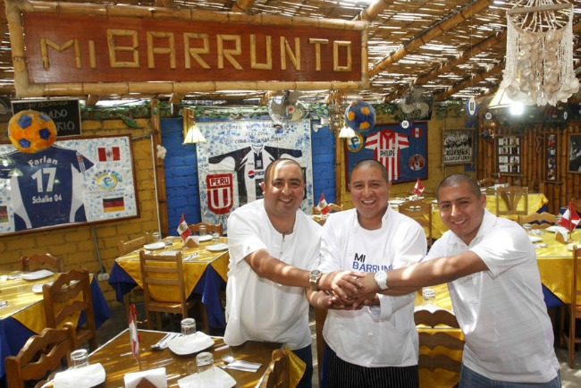 restaurant Barrunto
