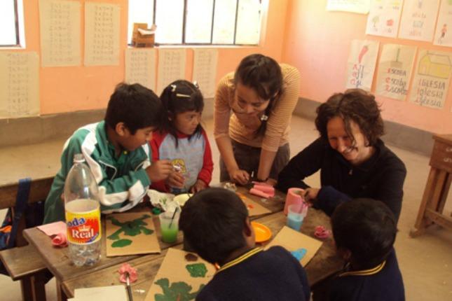 Les enfants d'Exito Verde - Colombie