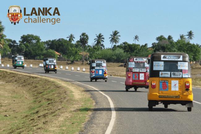 Tuk-tuk Tour - Le Lanka Challenge est plus qu'un voyage, c'est un challenge !