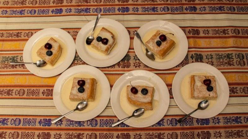 La recette Torta Tres Leches est finie