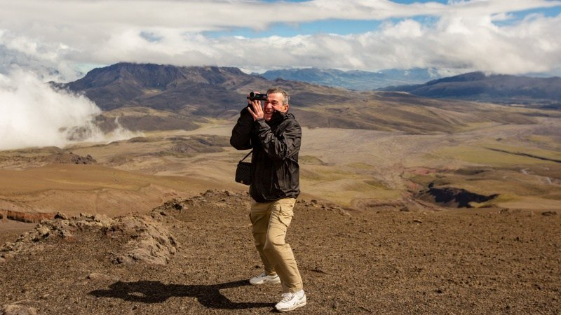 Exploration du parc national du Cotopaxi.