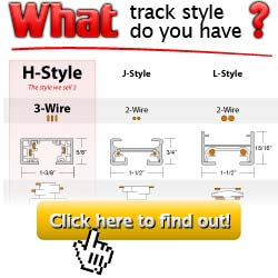 track lighting fixtures connectors and