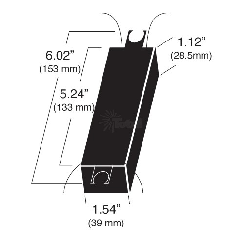 Outdoor lighting LighTech LET-303-12-AC300 watt 12 volt AC